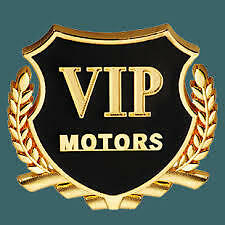 3D Golden VIP Motors Car Side Stickers Car Badge Logo Car Emblems 2Pc