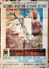 manifesto 2F originale LAWRENCE OF ARABIA Peter O'Toole David Lean 1970