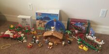 Fisher Price Little People Twas the Night Before Christmas-nativity-Train-Parade
