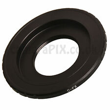 C-FX CCTV Cine C-mount lens to Fuji Fujifilm X camera adapter ring