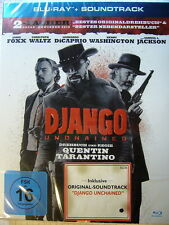 "Bluray + SOUNDTRACK - ""DJANGO UNCHAINED""+neu+ovp++"