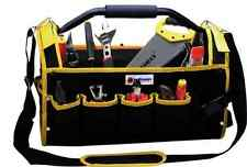 "16"" Multi-Purpose Tool Storage Bag Case 19 Pockets Shoulder Carry Tubular Holder"