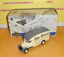 "Matchbox MODELS OF YESTERYEAR YPP02 1931 MORRIS VAN "" THE LONDON TIMES"""