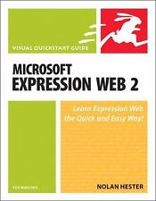 Microsoft Expression Web 2 for Windows: Visual QuickStart Guide - LikeNew - Hest