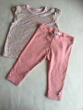 Baby Girls Clothes 3-6 Months - Cute  Next Outfit - T Shirt  Top & Leggings