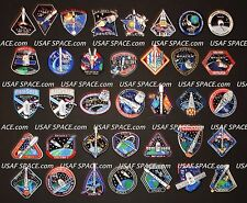 SPACEX 38 Mission SPACE PATCH SET F-9 FALCON-9 DRAGON ORIGINAL NASA ISS CRS-1~10