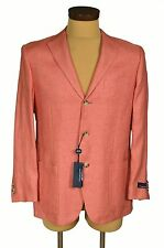 CORNELIANI Collection Men's Blazer Jacket 100% Linen Sport Coat 38/48 R8