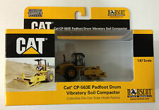 NORSCOT Cat CP-563E Padfoot Drum Soil Compactor 1/87 HO Scale NEW #55156