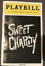 Sweet Charity Playbill 2016 Broadway Sutton Foster Younger