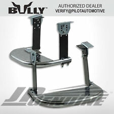 BULLY ALUNIMNUM CHROME TRIPLE PLATED TRUCK SIDE STEP 1 PAIR - UNIVERSAL
