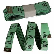 "GREEN Measure Tape 150cm 1.5m 60"" Sewing Craft Sew Tailor Body Ruler Measuring"