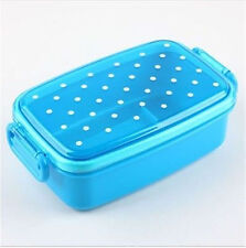 Cute Japan Style Dot Candy Color Bento Small Lunch Box Bento Box Fruit boxes