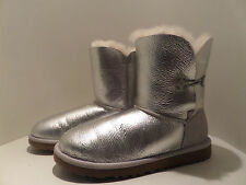 UGG Australia Sterling Metallic Bailey Glitter Button Boots S/N3375 US:6 Ret$180