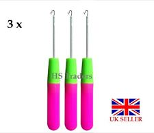 Crochet Needle for Hair/Micro Braid Needle / Dread Lock Maintaining Needle X 3