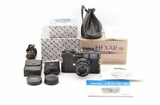 【MINT】 Konica Hexar RF w/ M-Hexanon 50mm F2 Lens + HX-18W + Box from Japan #815