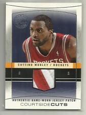 2003-04 Flair Final Edition Basketball Cuttino Mobley Jersey Patch Card # 4/45