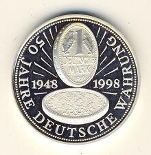 DEUTSCHLAND - 50 JAHRE Deutsche WÄHRUNG - SILBER - ANSEHEN (35)