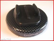CARBON FIBER GoPRO hero 2 3 4 Magnet flat race car mount 80# draw accessory
