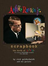 NEW hardcover edition THE ARTHUR RANKIN, JR. SCRAPBOOK, 24 Additional pages!