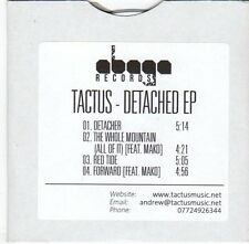 (EM451) Tactus, Detached EP - DJ CD