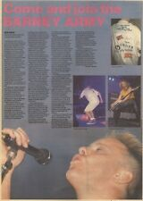 7/1/89Pgn35 Review With Pictures: New Order Live In Greater Manchester E.c