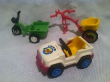 Playmobil Vintage RETIRED Childrens Kids Jeep Tricycle Clown 3808 3067