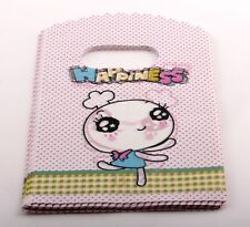 Jewelry Pouches.50pcs 9X15cm Cute Bunny  Plastic Bags Jewelry Gift Bag