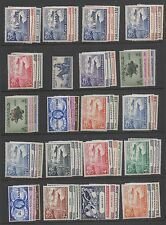 1949 UPU complete Omnibus Issue superb unmounted mint MNH 310 stamps v fine