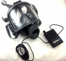 Scott/SEA Domestic Prep Gas Mask w/ SmallTalk ST2 Voice Amplifier & carry Case