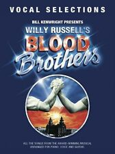 Blood Brothers Music Book Piano Vocal Guitar (PVG) NEW