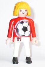 Playmobil Figur Fussball FUSSBALLSPIELER Soccer 3868 Frisur blond Streetsoccer
