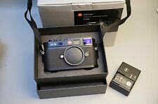 Leica M M9 18.0 MP Digital Camera - Black (Body Only) 3355 Shutter Count