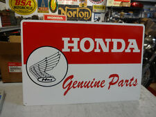 Honda Genuine Parts Motorcycle Sign  Parts  Accessories Decals Emblems Large