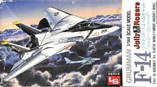 LS 1:144 Grumman F-14 Jolly Roger Plastic Aircraft Model Kit #1059U