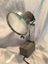 Vintage Roxter Electric Plug Flex Arm Lighted Jeweler Magnifying Glass working