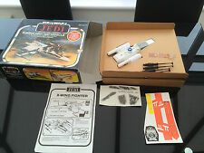 Vintage Star Wars ROTJ Battle Damaged X Wing Unused Contents Meccano