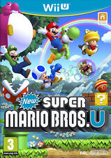 New Super Mario Bros. U Nintendo Wii U * NEW SEALED PAL *