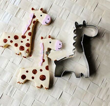 1 Pcs Cute Giraffe Cookie Cake Pastry Bread  Mold Baking Tools Cooking Tools