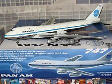 InFlight 200 Pan Am B747 -100 N738PA Clipper Defender 1/200 **Free S&H**