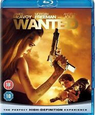 WANTED - BLU RAY - ANGELINA JOLIE - NEW - IN STOCK