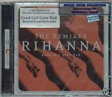 RIHANNA GOOD GIRL GONE BAD THE REMIXES SEALED CD NEW