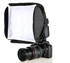 mini Soft Box Kit Softbox for Canon Nikon Flash Speedlite Flash Light