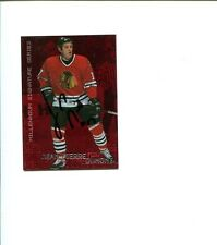 Jean-Pierre Dumont Chicago Blackhawks In The Game Signed Autograph Photo Card