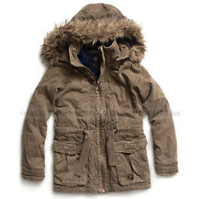 G-STAR RAW WMN WOMEN'S PARKA JACKET WINTER COAT BUTTERNUT SIZE S/SMALL RRP $375