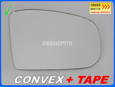 Wing Mirror Glass CONVEX + TAPE MERCEDES ML W164 2005-2008 Right Side #381