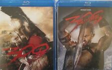 300 1-2: Rise of an Empire- Spartans- Gerard Butler- Lena Headey- NEW 2 BLU RAY