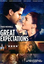 Great Expectations Jeremy Irvine Ralph Fiennes Holiday Grainger  (DVD, 2014) WS