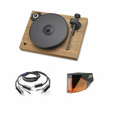 Pro-Ject Xperience SB SuperPack Tourne-disque + 2M Bronze (Noix) NEUF