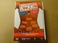 6-DVD BOX / AMERICAN PIE - ALL 6 SLICES