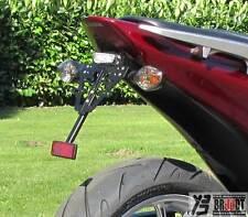 BRUUDT Kennzeichenhalter für Honda Integra 700 für Mini oder Original Blinker